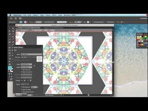 Creating Kaleidoscope Patterns In Adobe Illustrator Cs6