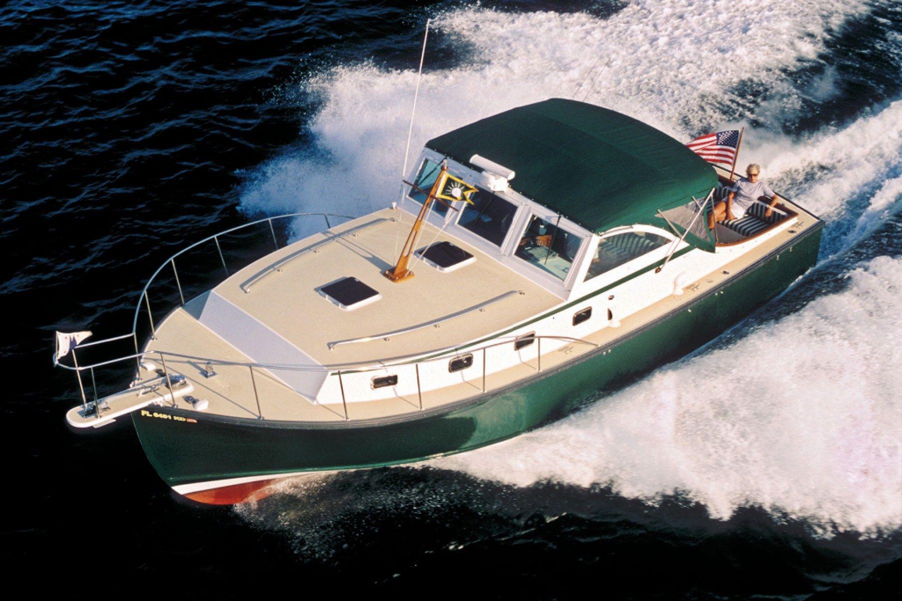 The Ellis 36 Boat companies, Boat, Downeast cruiser