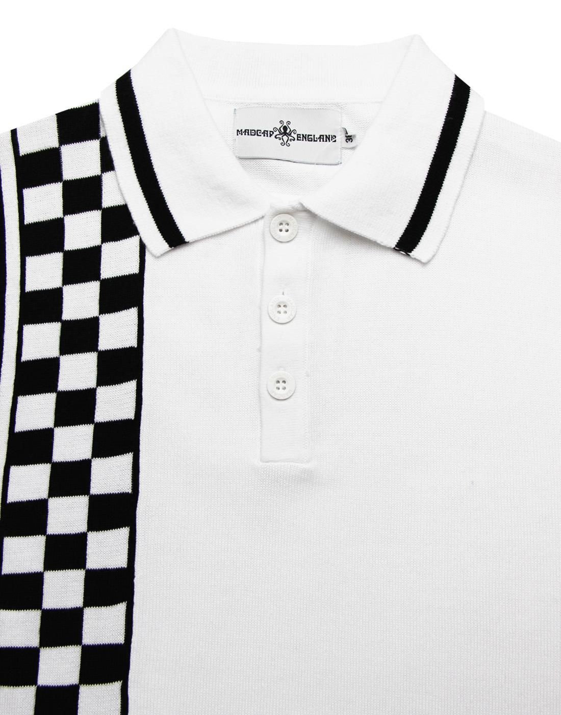 8223b9384 Maytal MADCAP ENGLAND Mod Ska Check Stripe Polo in 2019