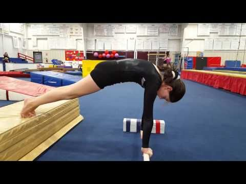 Drills for Floor and Bars Warm-up - YouTube