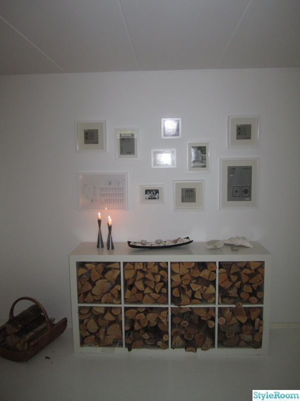 Storing Wood In An Ikea Expeditkallax Shelf Ideas To Make Home