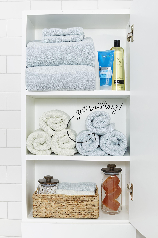 10 Stylish Tricks for a More-Organized Bathroom | closets - storage ...
