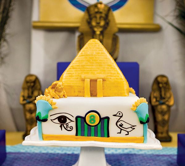 Jewel of the Nile Egyptian Spa Party Spa party Egyptian and Cake