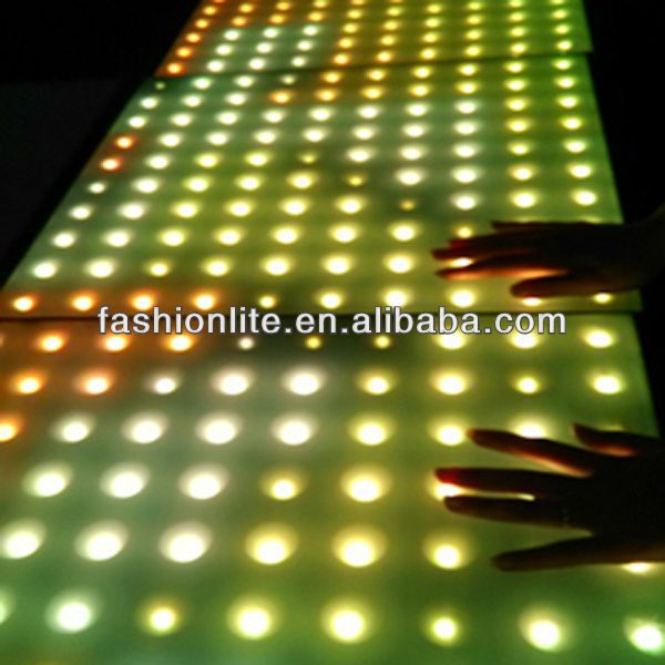 Newest sensitive dance floor used led dance floor for sale