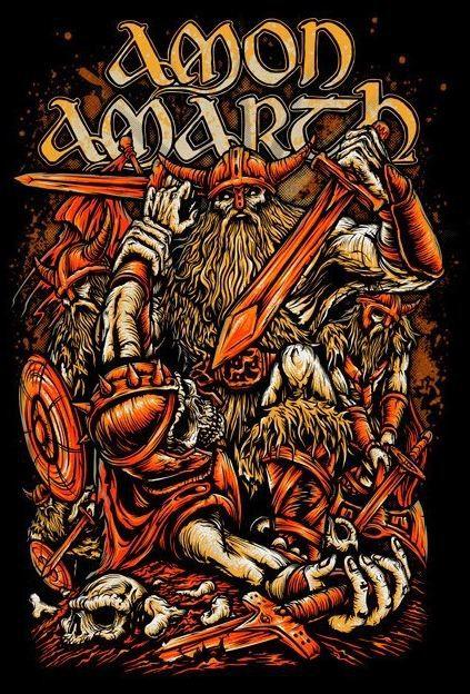 Amon Amarth Heavy Metal Art Amon Amarth Heavy Metal Bands