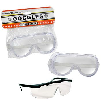 bulk tool bench safety goggles glasses at dollartree com vbs