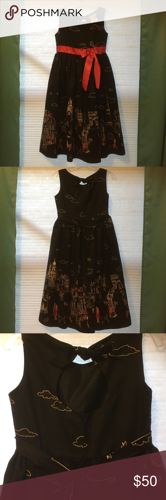 Rare Editions Ooo la la Girls Party Dress