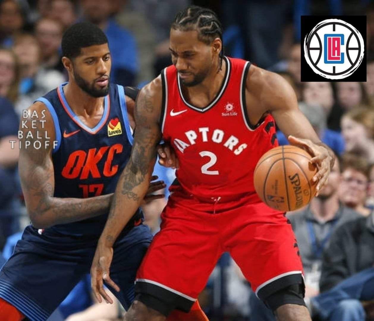 Paul George Kawhi Leonard Now Teammates Clippers Basketball Funny Nba Champions Nba News