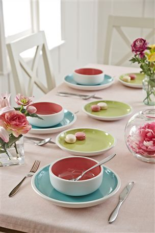 Una Pastel Dinner Set U 241 As Pastel Arquitectura Casitas