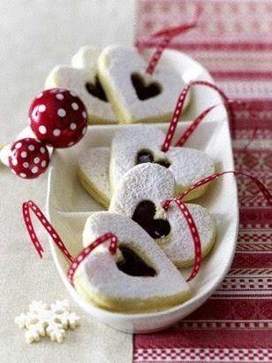 Weihnachtsplätzchen Lecker De.Glühweinherzen Rezept Weihnachtstraditions Rezepte Kekse