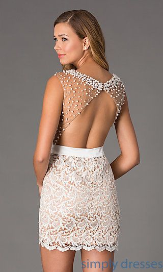 Short Ivory Dress
