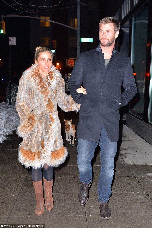 Wie is Chris Hemsworth dating vandaag