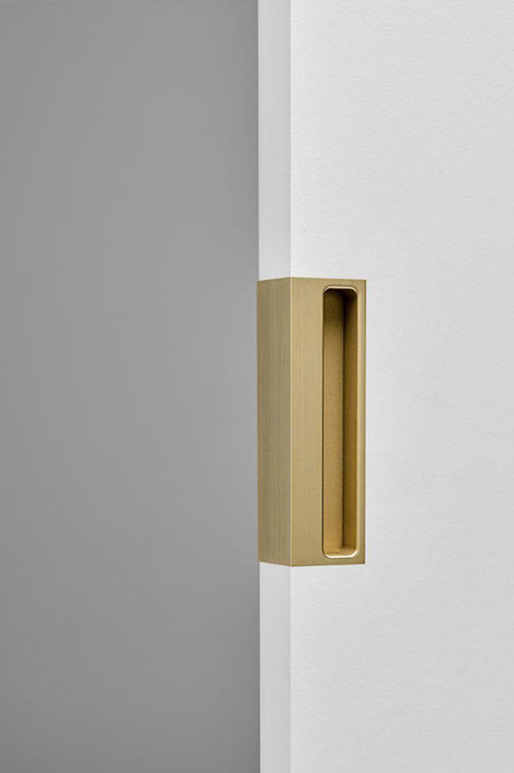 More Than 20 Door Pulls For Your Next Projects Door Handles Interior Sliding Doors Interior Door Handle Design