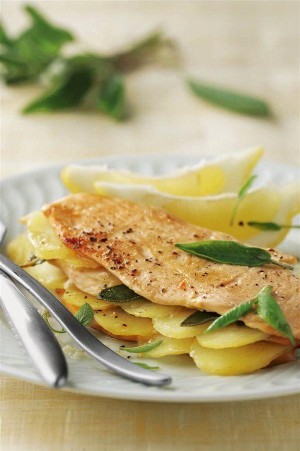 recetas con pollo ligeras