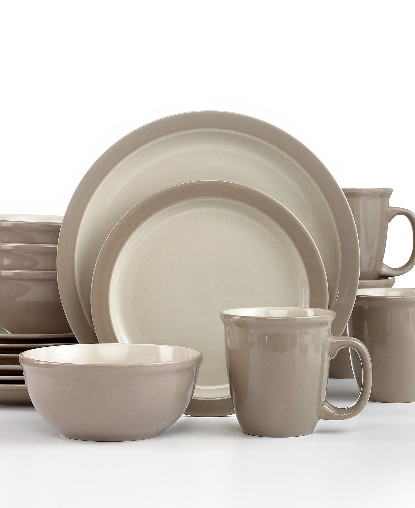 Thomson Pottery Mali Sesame 16-Pc. Set Service for 4 - Dinnerware -  sc 1 st  Pinterest & Thomson Pottery Mali Sesame 16-Pc. Set Service for 4 - Dinnerware ...