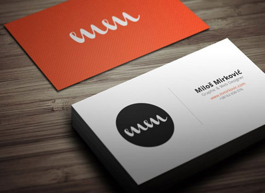 Simple Good Looking Lavish Business Visiting Card Name Card Design Printing Business Cards Business Card Design