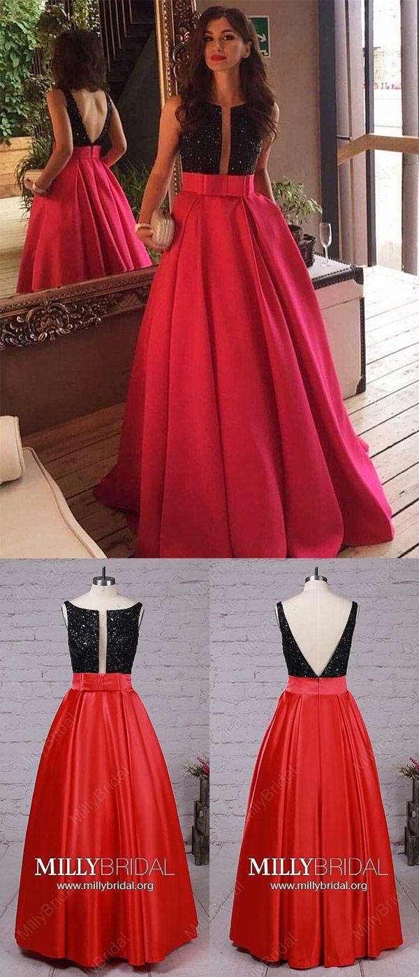 Red prom dresseslong prom dressesmodest prom dresses for teens