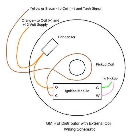 Gm Hei Distributor And Coil Wiring Diagram Yahoo Search Results Electrical Diagram Diagram Search