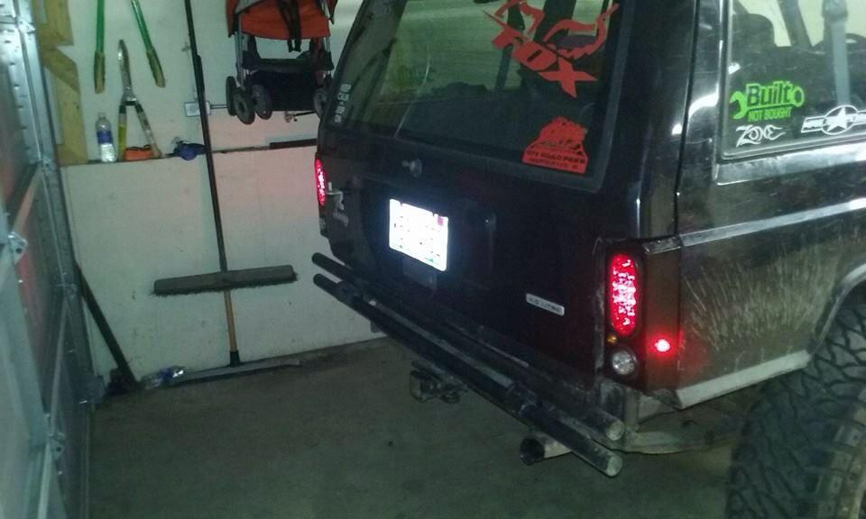 Jeep Cherokee Xj Mj Tail Light Box Jeep Xj Jeep Xj Mods Jeep Cherokee Xj