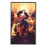 Mary Undoer Of Knots Wall Plaque - $15.00