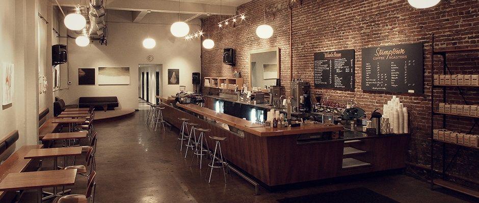 Downtown portland stumptown coffee roasters favorite