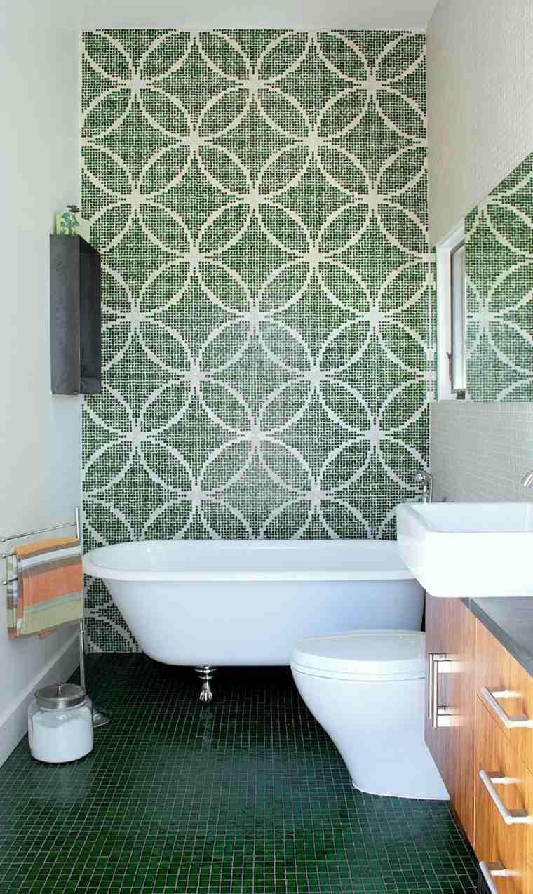 carrelage salle de bains – 34 idées avec la belle mosaïque | house