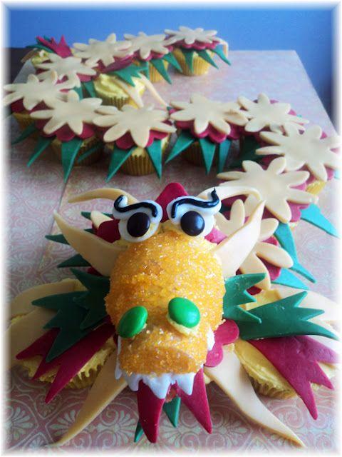 Wow! A cupcake dragon!