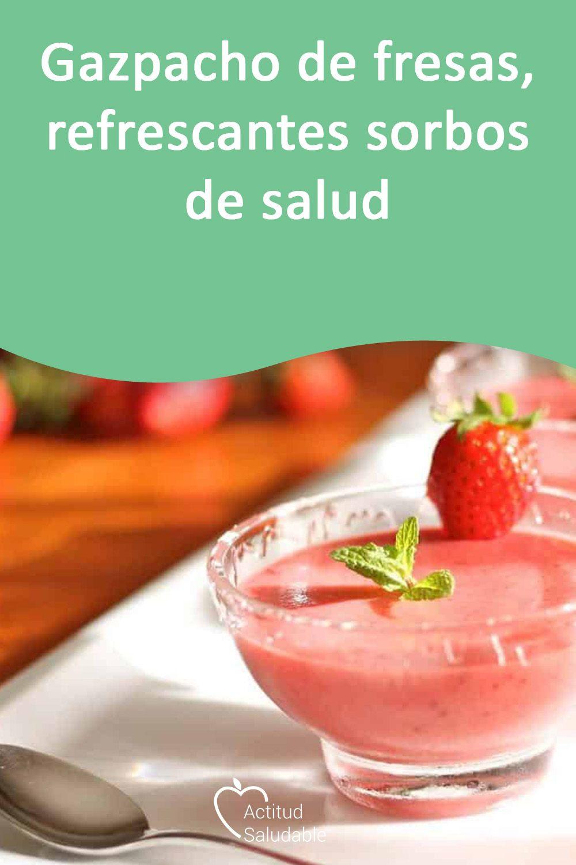 gazpacho de fresas termomix