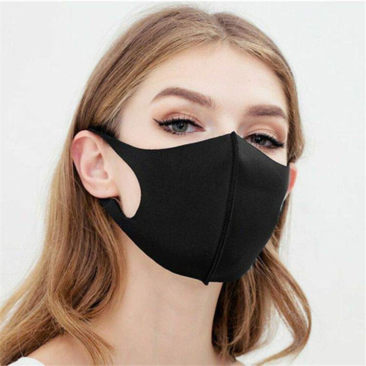 PM2.5 Breathable Anti-dust Face Mask Washable Cotton Haze Filter Respirator