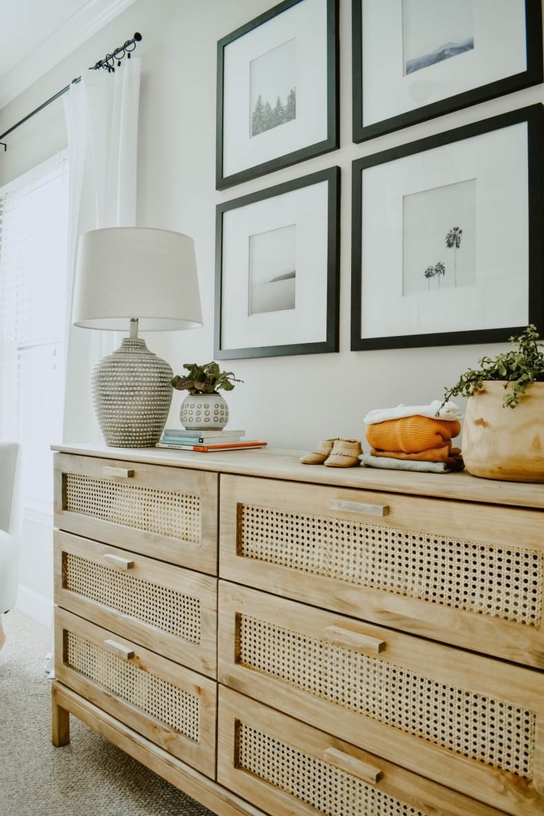 Photo of DIY Cane Dresser | IKEA Tarva Dresser Honoris causa  House On Longwood Lane