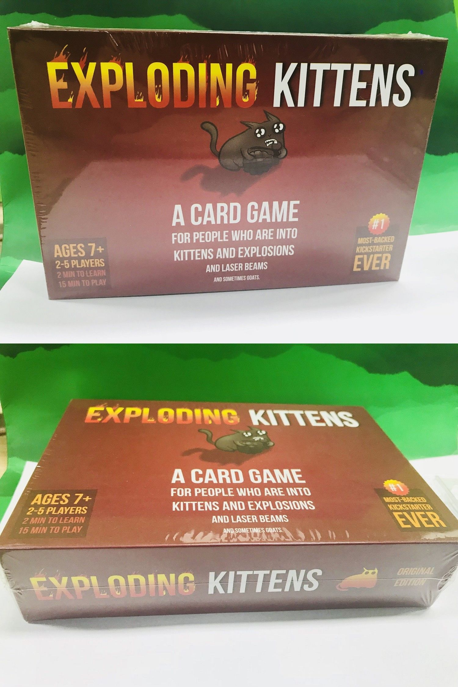 Other Games 234 Exploding Kittens Game Card For Family Friends Party Game Gift Card Gift Buy It Now Only 11 98 On E Gaming Gifts Friends Party Card Games