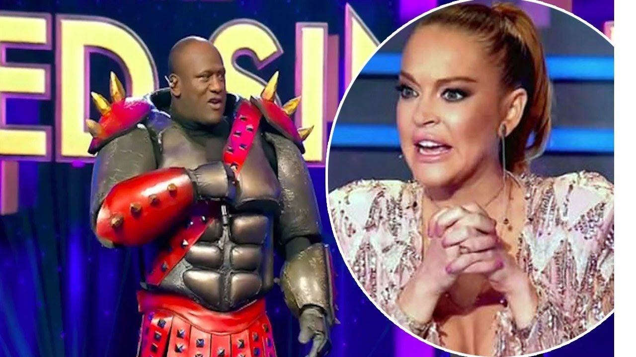 The Masked Singers Wendell Sailor Reveals Lindsay Lohans Bizarre Set Beh Singer Youtube Mario Characters