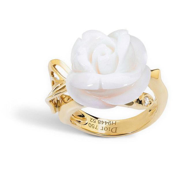 4173c9b208 Rose dior pré catelan ring, small model, in 18k yellow gold and ...