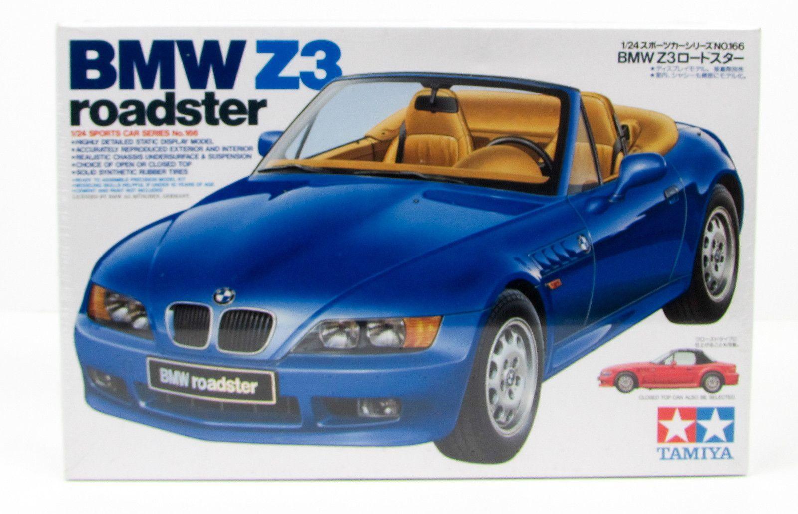 Bmw Z3 Roadster Tamiya 24166 1 24 New Car Plastic Model