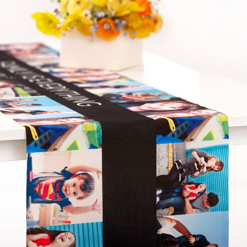 Home Design Gift Ideas: Gallery Collage Table Runner