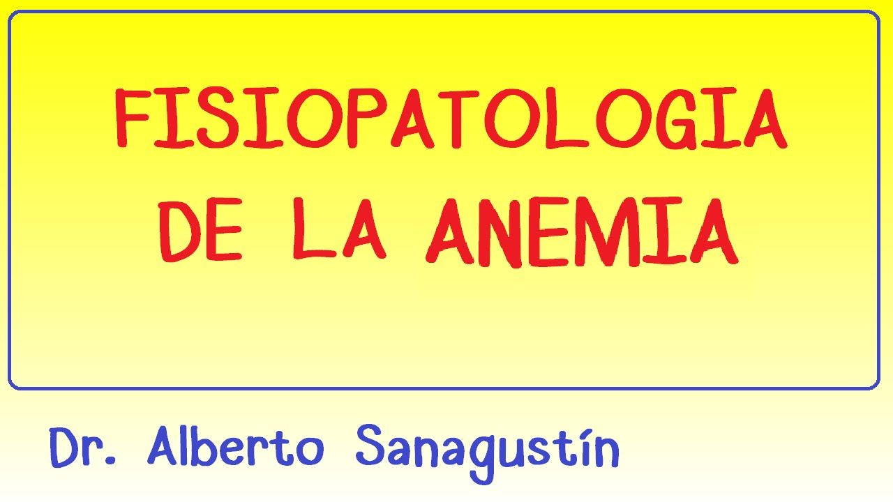 Fisiopatología de la anemia - Hematología | Hematología | Pinterest ...