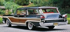 Photo Feature 1959 Mercury Colony Park Mercury Cars Station Wagon Woody Wagon