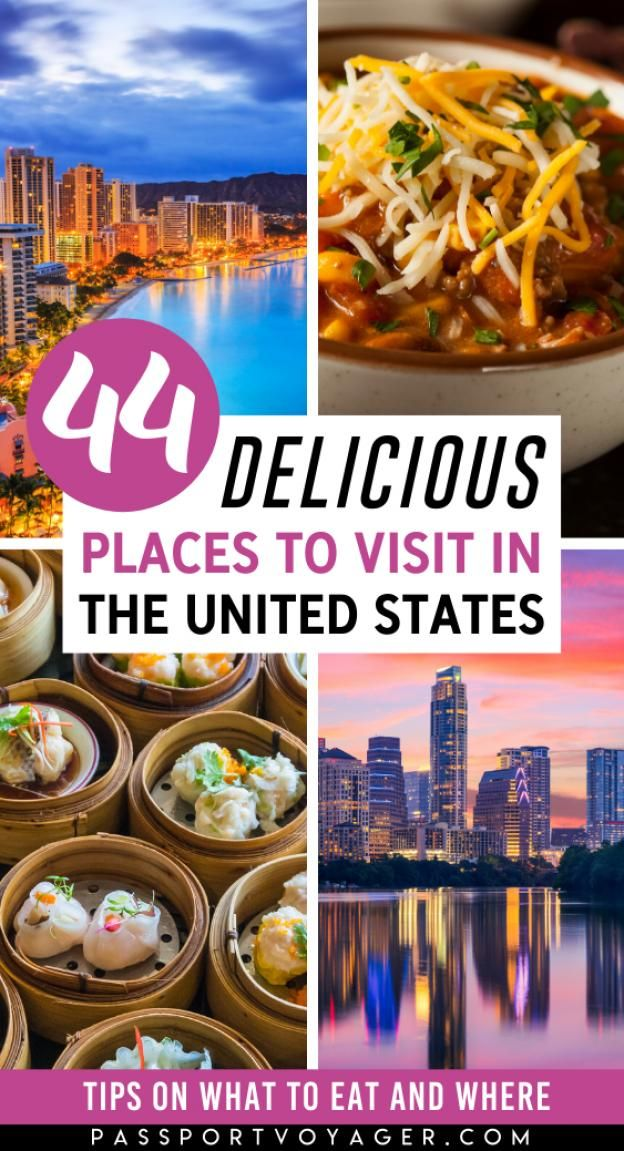 Want to explore the diverse array of cuisines available in the United States? Looking for the best restaurant recommendations? Check out this incredible list of the top 44 cities all food lovers should visit in the United States - check it out and start planning your trip now! #foodtravel #ustravelbucketlist #foodietravel #usa #travel #northamericatravel #north #america #travel #north #america #travel #ideas