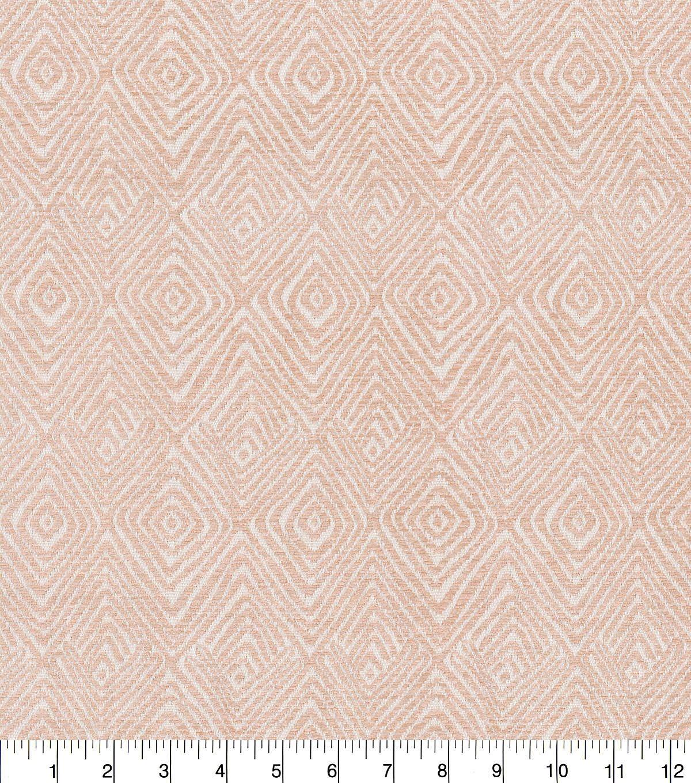 Kelly Ripa Home Lightweight Decor Fabric 54 Blush Set In Motion