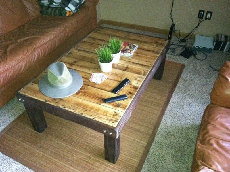 Diy Pallet Coffee Table With Images Wood Coffee Table Design Coffee Table Plans Pallet Wood Coffee Table