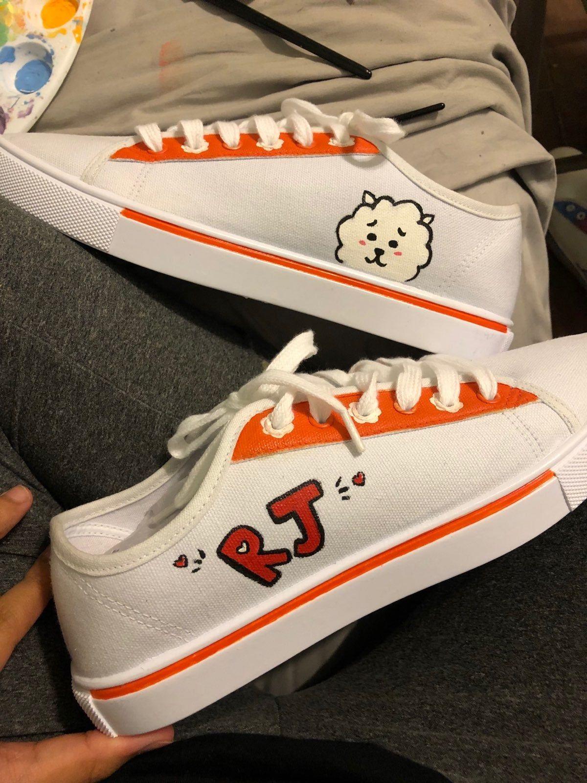 KPOP BTS RJ-Inspired Sneakers