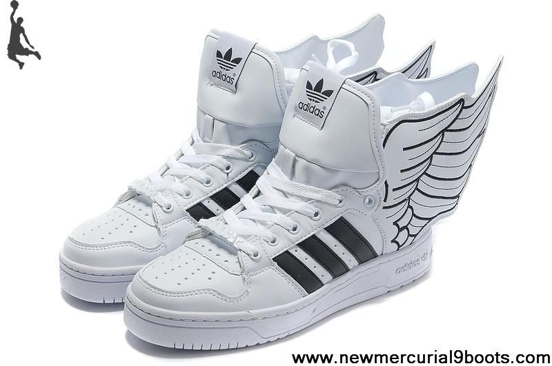 7a275b95b3bf Adidas X Jeremy Scott Wings 2.0 Shoes White Black Shoes Store