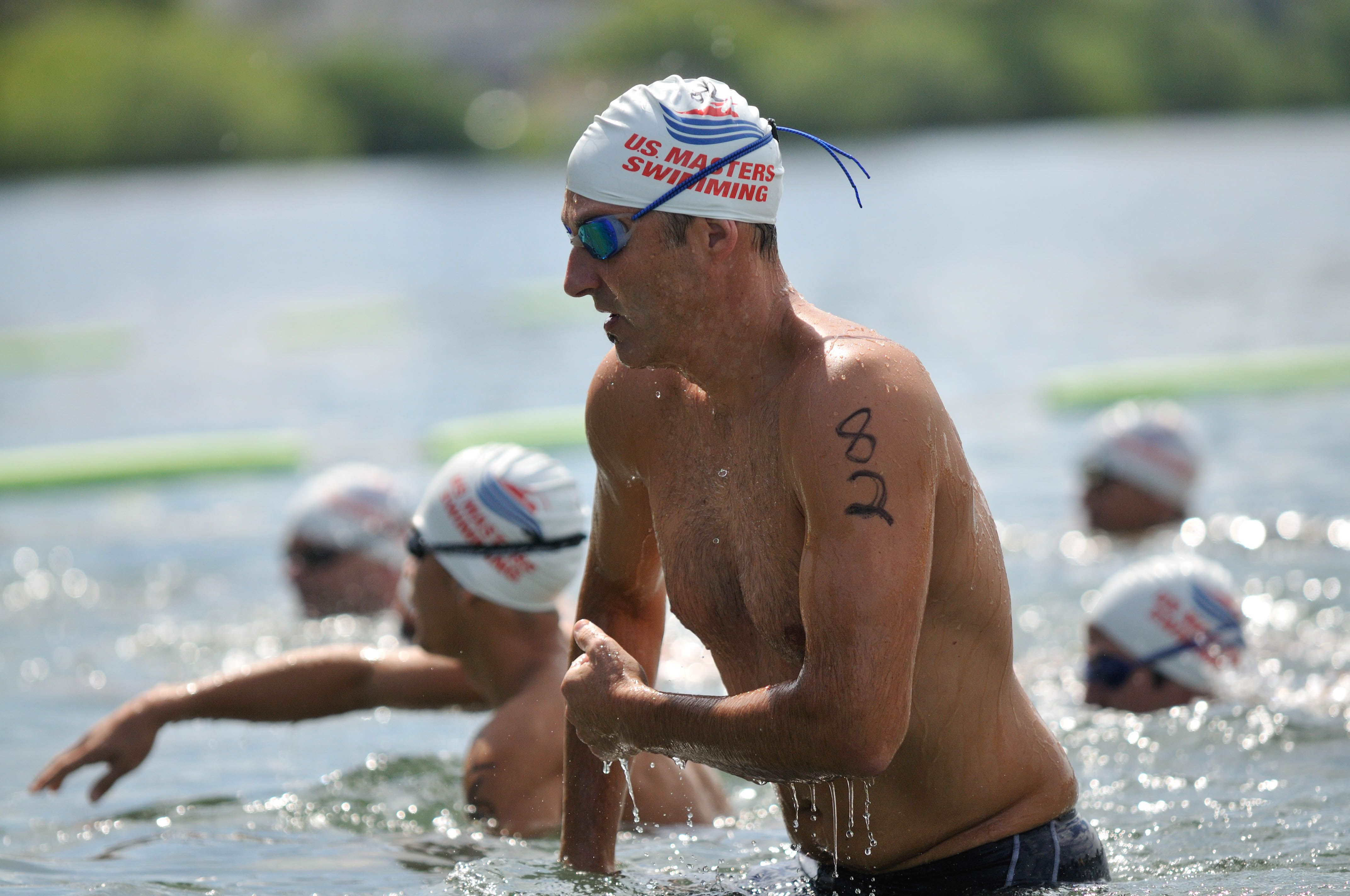 How to Remain Calm in Open Water Swimming Chaos   Open
