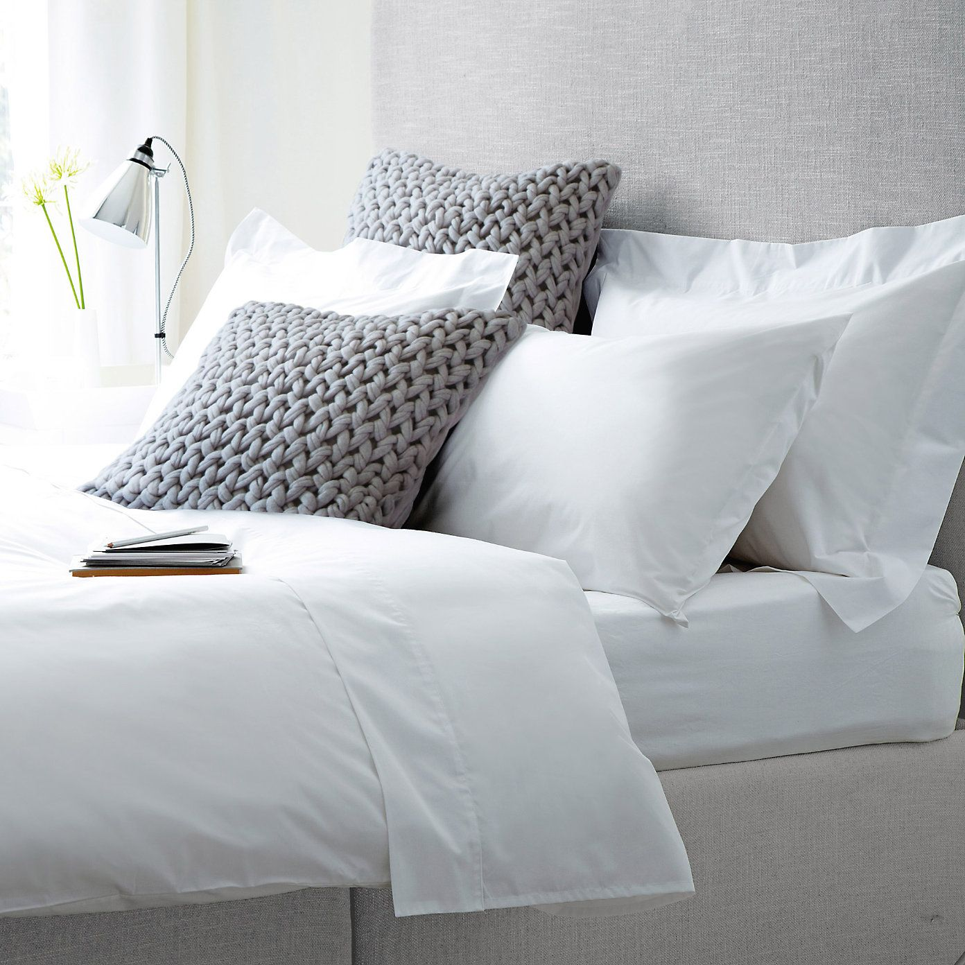 Cotton Bed Linen From The White Company Home Home Bedroom