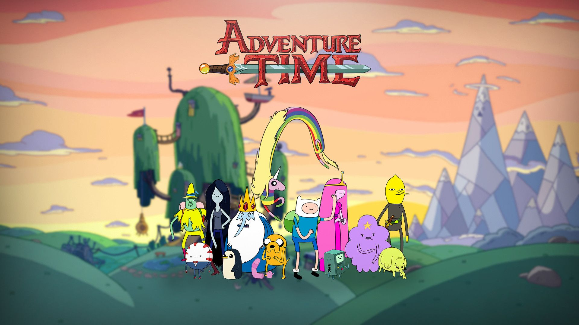 An Adventure Time Wallpaper I Made In 2020 Adventure Time Wallpaper Nerdy Wallpaper Adventure Time