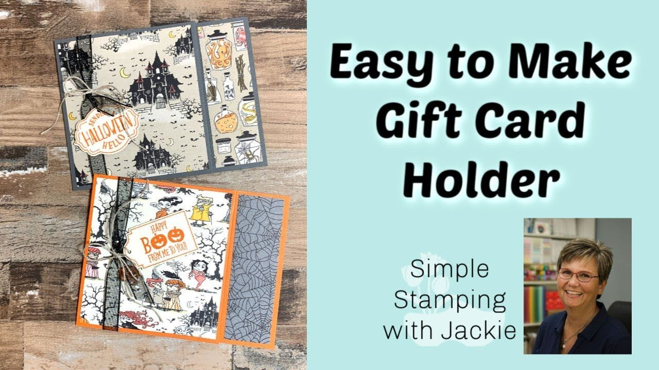 Photo of How to Make an Easy Gift Card Holder