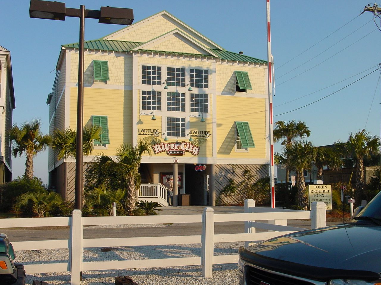 River City Cafe In Surfside On The Beach Surfside Beach Myrtle Beach South Carolina Myrtle Beach