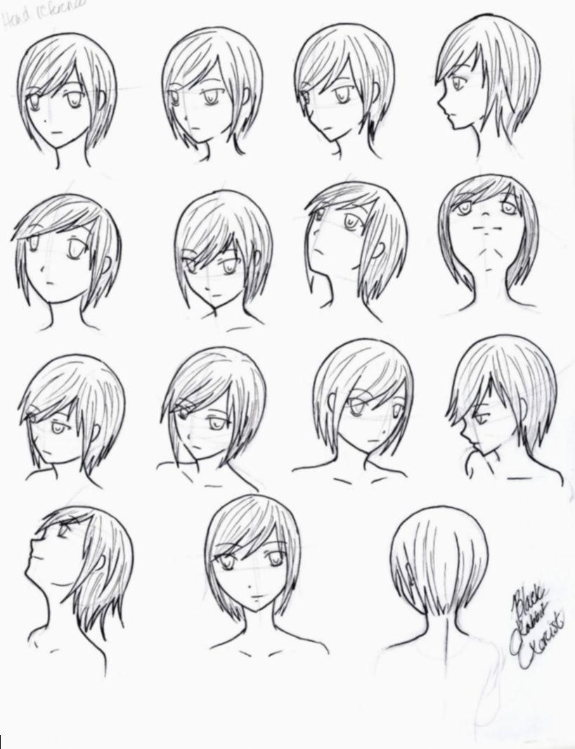 Anime Face Angles Character Design Bokunoheroacademiacosplay Anime Manga Patung