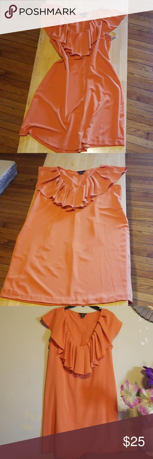 Apostrophe dress Orange size L/G Clothes design, Dresses