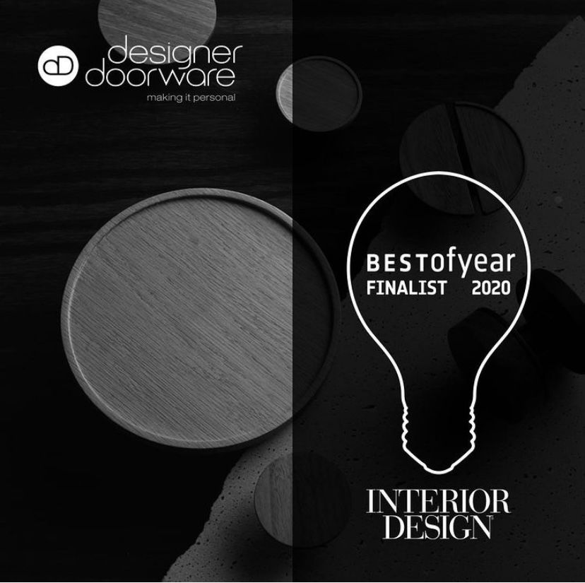 We are pleased to announce that our Timber Niki Collection is a finalist in Interior Design Magazine's 2020 Best of the Year Award in the Hardware category. Thank you Interior Design Magazine 😊 #designerdoorware #interiordesignmagazine #interiorawards #idboyawards #doorhardware #luxuryhardware #doorfurniture #interirordesign #architecture #homedecor #design #architecturelovers #idboyawards2020